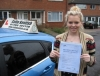 Gemma Allen passed with Colin Kentish Driver Training