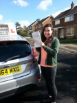Jessica French passed with Colin Kentish Driver Training