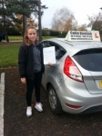 Kerry-Ann Wallage passed with Colin Kentish Driver Training