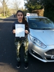 Kiri Marsh passed with Colin Kentish Driver Training