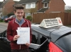 George Brine passed with Colin Kentish Driver Training
