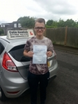 Callum Clutterbuck passed with Colin Kentish Driver Training
