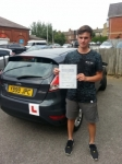 Joe Caisley passed with Colin Kentish Driver Training