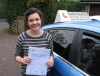 Hannah Hordle passed with Colin Kentish Driver Training