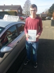 Paul Walkling passed with Colin Kentish Driver Training