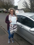 Imogen Clark passed with Colin Kentish Driver Training