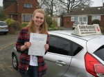 Kathryn Reay passed with Colin Kentish Driver Training