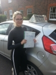 Lois Thorpe passed with Colin Kentish Driver Training