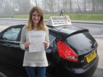 Rhia Brignall passed with Colin Kentish Driver Training