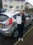 Isabelle Stevens passed with Colin Kentish Driver Training