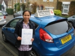 Jenny Baylon passed with Colin Kentish Driver Training