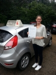 Amanda Turner passed with Colin Kentish Driver Training
