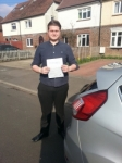 Jarod Tutton passed with Colin Kentish Driver Training