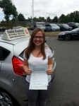 Elizabeth Chamberlain passed with Colin Kentish Driver Training