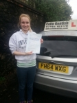 Livi Gowie passed with Colin Kentish Driver Training