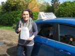 Katy Wetz passed with Colin Kentish Driver Training