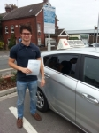 Max Hobbs passed with Colin Kentish Driver Training