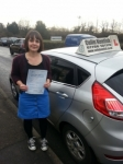 Becky Raybone passed with Colin Kentish Driver Training
