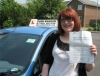 Abbie Jaggers passed with Colin Kentish Driver Training