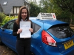 Eleanor Atkinson passed with Colin Kentish Driver Training