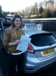 Rose Bradshaw passed with Colin Kentish Driver Training
