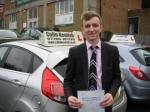 Tom Roundhill passed with Colin Kentish Driver Training
