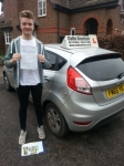 Jack Burns passed with Colin Kentish Driver Training