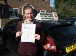 Chloe Maher passed with Colin Kentish Driver Training