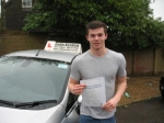 James Vigis passed with Colin Kentish Driver Training
