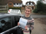 Olivia Samuel passed with Colin Kentish Driver Training