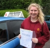 Jessica Denniff passed with Colin Kentish Driver Training