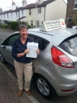 Jane Sedge passed with Colin Kentish Driver Training