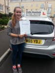 Lottie Bishop passed with Colin Kentish Driver Training