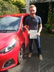 Luke Ibbotson passed with Colin Kentish Driver Training