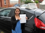 Weng Lucken passed with Colin Kentish Driver Training