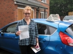 Tori Keegan passed with Colin Kentish Driver Training