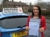 Sophie Harding passed with Colin Kentish Driver Training