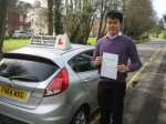 Nigel Pak passed with Colin Kentish Driver Training