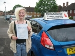 Laura Doggett passed with Colin Kentish Driver Training