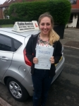 Michaela Pugh passed with Colin Kentish Driver Training