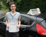 Matthew Shinn passed with Colin Kentish Driver Training