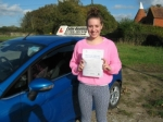 Laura Kew passed with Colin Kentish Driver Training
