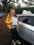 Emily Rye passed with Colin Kentish Driver Training