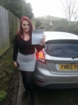 Becky Wick passed with Colin Kentish Driver Training