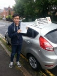 Nigel Ma passed with Colin Kentish Driver Training