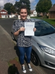 Frankie Unlu passed with Colin Kentish Driver Training