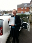 Alice Walsh passed with Colin Kentish Driver Training