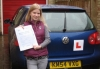 Georgia Malcolm passed with Colin Kentish Driver Training