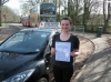 Emma Ball passed with Colin Kentish Driver Training
