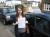 Rebecca Wood passed with Colin Kentish Driver Training